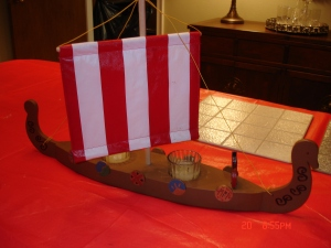 A Longship - Model Not to Scale!!!